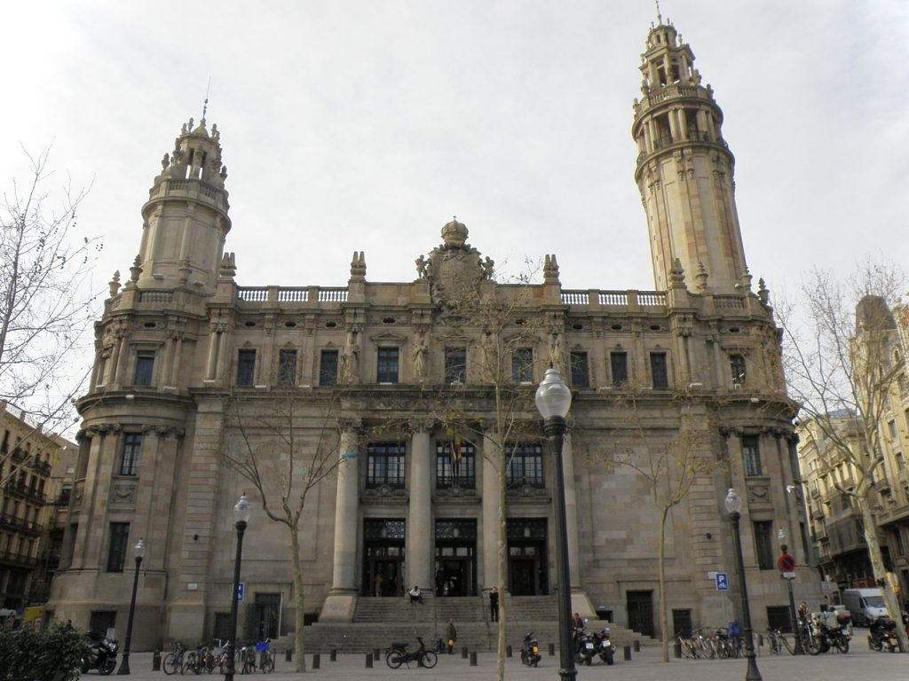 Barcelona bank screen shot at with barcelona bank foto for Correos oficinas barcelona